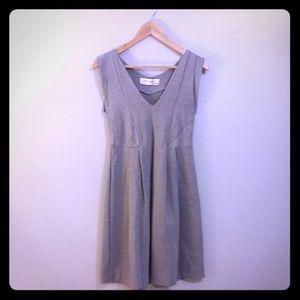 Zara Collection Gray Sleeveless Dress